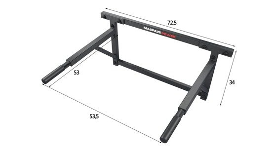 Dips handles for the wall Magnus Power MP1010 frame