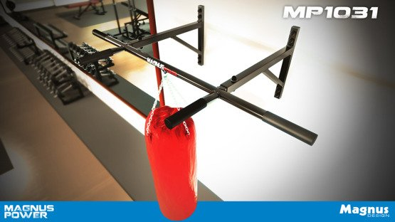 MAGNUS ® MP1031 Wall mounted bar for pull ups NR1