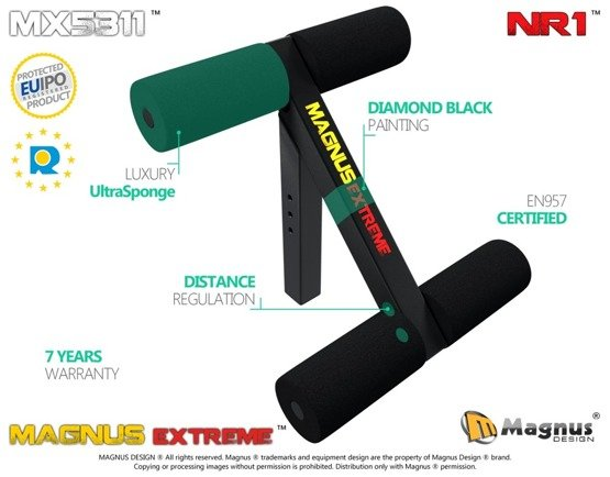 MAGNUS ® MX5311 Leg lock down for abs chest workout