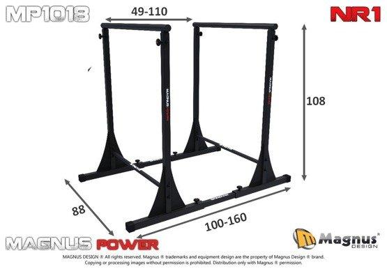 MAGNUS ® Power MP1018 Stationäre Barren NR1