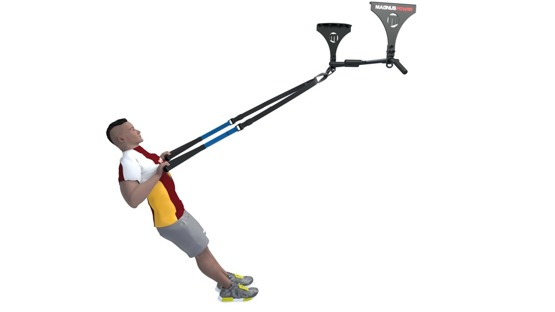 Pull up bar Magnus Power ® MP3025 (ceiling mounted) pull ups, crossfit TRX